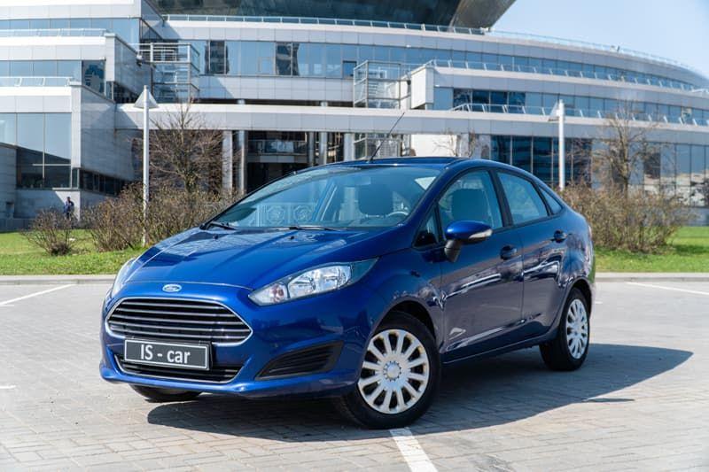 Аренда Ford Fiesta Sedan в Минске